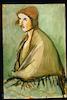 Akselrod, Seated woman in a shawl with fringe – הספרייה הלאומית