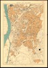 Map of Cairo; Produced at the Survey Dept. Egypt.