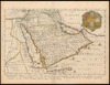 A generall mapp of Arabia;with the Red Sea and circumjacent lands /;designed by M.Sanson...rendred into English by Richard Blome – הספרייה הלאומית
