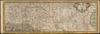 DANUBIUS Fluminum Europaeorum PRINCEPS;Secundum naturalem Suum Cursum Pontes, Stationes, et Accessoria Flumina, una cum intimatione Ubi et quinam Eorum Navigabilia. Nec non Omnia Finitima Reona Principatus, Provincias, Dÿnastias, Urbes et Pagos proximos quos Alluita Fonte ad Ostia /;Ex Optimis tam Vetustis quam Recentioribus Geographorum Monumentis Sedulo Delineatus Per P. Willium C. Rhaetum. Johan Ulrich Kraus sc.