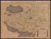Persici vel Sophorum Regni Typus = Le Royaume de Perse ou Empire des Sophi – הספרייה הלאומית