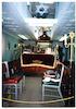 Holy Community of Ioannina (Kehila Kedosha Janina) in New York Interior, Reader's desk – הספרייה הלאומית