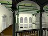 3D computer model of the Synagogue in Berkach Computer reconstruction – הספרייה הלאומית