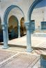 Rabbi Avraham Synagogue in Djerba - photos by Boris Lekar Courtyard – הספרייה הלאומית