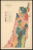 Geological map of Palestine; Stratigraphy by G.S. Blake.