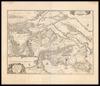 Attica, Megarica, Corinthiaca, Boeotia, Phocis, Locri;Ex clarißimi D. T. Velii M. D. Delineatione – הספרייה הלאומית
