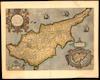 Cypri Insulae Nova Descript;Ioannes à Deutecum f.