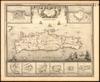 Plan de L'Isle de Candie Iadis Crete et Isles voisines;Par le Chevalier de Beaulieu.