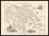 Ionian Isles and Greece;Map drawn and engraved by J. Rapkin ; Illustrations by A. H. Wray & engraved by J. B. Allen – הספרייה הלאומית