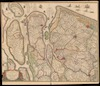 Novissima Delflandiæ, Schielandiæ et circumiacentium insularum ut Vooræe, Overflackeæ, Goereæ, Iselmondæ, aliarumque tabula;Auctore Balthazaro Florentio a Berckenrode – הספרייה הלאומית