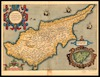Cypri Insulae Nova Descript;Ioannes à Deutecum f – הספרייה הלאומית