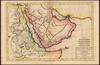Carte De L'Arabie, du Golfe Persique, et de la Mer Rouge, avec L'Egypte, La Nubie et L'Abissinie;Par M. Bonne – הספרייה הלאומית