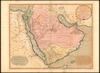 A New Map of Arabia;Divided into its several regions and districts /;From Monsr. D.Anville... with additions... Niebuhr – הספרייה הלאומית