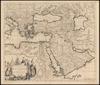 Accuratissima et Maxima Totius Turcici Imperii Tabula cum Omnibus Suis Regionibus Novissima Delineatio;per I. Danckerum – הספרייה הלאומית