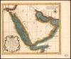 Carte de la coste d'Arabie, Mer Rouge, et Golfe de Perse;tirée de la carte Françoise de l'Ocean Oriental – הספרייה הלאומית