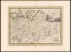 La parte occidentale della Russia Asiatica delineata sulle ultime osservazioni;Gio.Ma.Cassini – הספרייה הלאומית