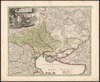 Ukrania seu Cosacorum Regio Walachia item Moldavia et Tartaria minor;exc. Christ. Weigelio ; M. Kauffer Sculp – הספרייה הלאומית