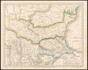 Macedonia, Moesia, Thracia et Dacia;Drwan and Engraved by Sidney Hall.