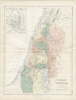 Canaan or Palestine /;by A.K. Johnston. Engraved & printed by W.&A.K. Johnston – הספרייה הלאומית