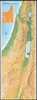 Map of the Kibbutzim in Israel; Edited by I.Blaushild. Assistant: Eytan Hess.