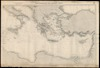 Mediterranean Sea. Eastern sheet; Compiled... 1880 /; Engraved by Davies & company.