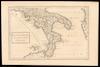 Graecia magna sive pars ultima Italiae;R.W.Seale sculp – הספרייה הלאומית