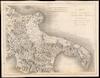 CARTE De La Seconde Partie DU ROYAUME DE NAPLES;Contenant LA CAPITANATE, LA POUILLE, La Terre de BARI et La Terre D'OTRANTE /;Perrier Sculp.