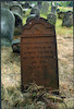 Jewish Cemetery in Radomsko Iron tombstone of Nathan Meshulam Faibel ben Meir Bronheim, 1876 – הספרייה הלאומית