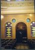 Monasterioton Synagogue in Thessaloniki (Salonika) - Interior Interior – הספרייה הלאומית