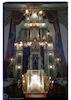 Leipziger Temple in Piatra Neamţ - Torah ark and amud Torah ark – הספרייה הלאומית