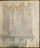 Munich Sephardi Massoretic Bible fol. 13v – הספרייה הלאומית