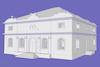 Small Synagogue in Akhaltsikhe 3D computer model – הספרייה הלאומית