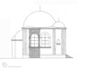 Reconstruction drawings of the Synagogue in Genthin – הספרייה הלאומית