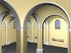 3D computer model of the Great Synagogue in Illintsi 3D computer model – הספרייה הלאומית