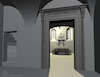 3D computer model of the Great Synagogue in Sataniv 3D computer model – הספרייה הלאומית