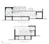 Drawings of the Jewish house at 11 Tikhonova St. in Bukhara Measured drawings – הספרייה הלאומית