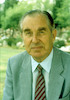 President of State Haim Herzog.