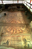 An old mosaic, which was a floor in an ancient Jewish Synagogue was dicovered in Beit Alfa.: