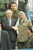 A new progress in the Palestinian Peace Process were reached during the discussions between PM Peres Shimon and PLO leader Yasser Arafat – הספרייה הלאומית
