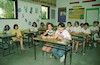 Children from Yugoslavia who fleed from the war, joined a local chool Nahalat Yehuda – הספרייה הלאומית