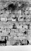 The Western Wall.: