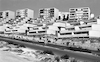 New housing complex in the Jewish quarter in Upper Nazareth.