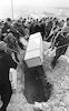 Funeral of the late writer Shay Agnon who received the Nobel Prize.