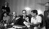 Foreign Minister Abba Eban returned from the US.: