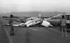 An accident of a private small aircraft – הספרייה הלאומית