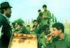 The Habad religious movement distributing doughnuts to soldier.: – הספרייה הלאומית