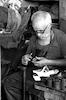 A shoemaker at work – הספרייה הלאומית