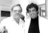 Famous singer Enrico Masias visited today Minister of Agriculture Arik Nehemkin.: