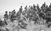 """הרמטכ""""ל, רב אלוף משה לוי, השתתף במצעד סיום קורס קצינים בשטח הכבוש בלבנון."""