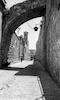 The old part of the Jerusalem City.: